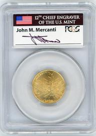 2002-W $5 Gold Salt Lake City MS70 PCGS J Mercanti *POP 1*