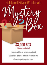 Gold and Silver Wholesale $3,000 Mystery Box