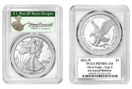 2021-W Proof ASE PR70DCAM PCGS Type 2 Advanced Release T. Cleveland Minuteman