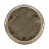 "Aluminum Decorative Timber Tray D13x2"""