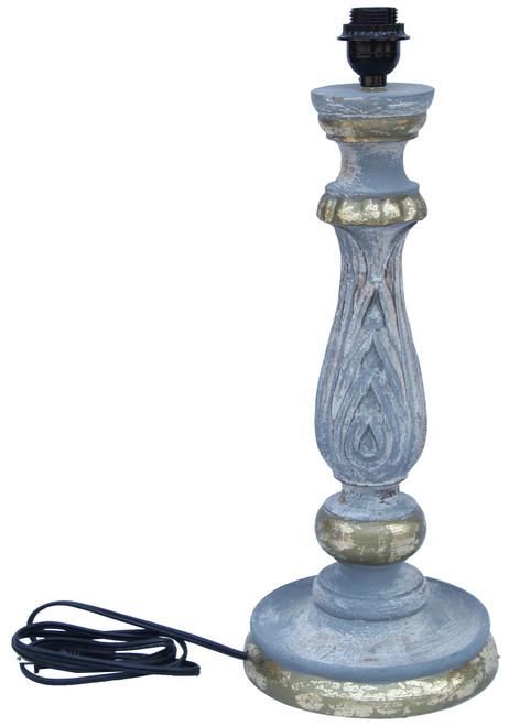 Wood Table Lamp Base