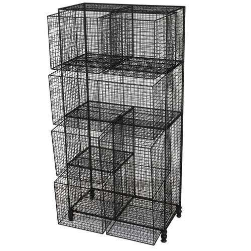 Botana Wire Shelf With 6 Removable Basket Drawers
