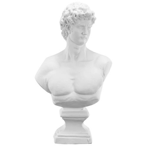 "Baroque Garden Bust Statue 13x7x24"""
