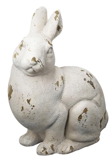 """Sitting Rabbit Statue 12.5x8.5x15"""""""
