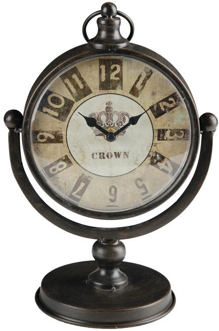"A&B Home London Clock, 7.5""X5""X11.5"""