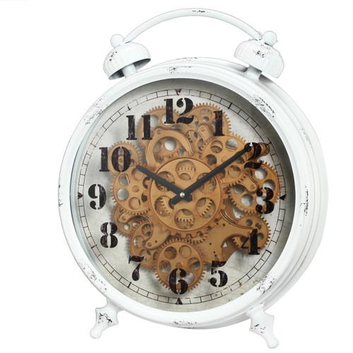 "Classic Gears Table Clock 16""X5""X18"""