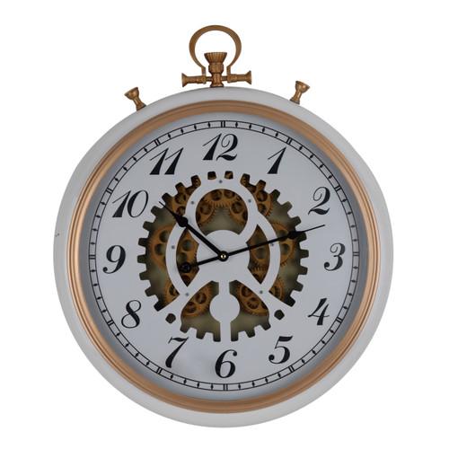 "Adkisson Pocketed Wall Clock Gear 21X3X25"""