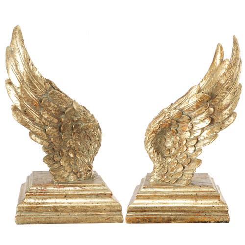 Soar Wing Bookends Pair