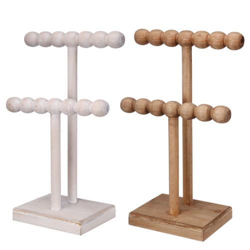 "Northrup 2-Tier Jewelry Stand 9X5X15"" Set Of 2"
