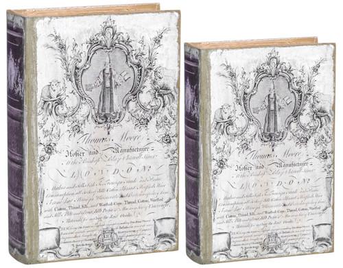 Set of 2 Thomas Moore Book Boxes