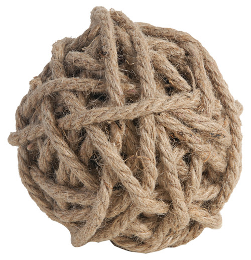 Decorative Rope Balls, Set of 4