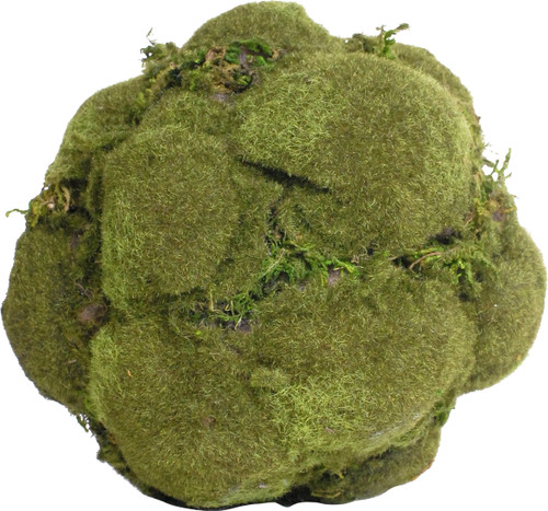 FantasticDecor Lot of 3 Artificial Decorative Moss Ball D6.5