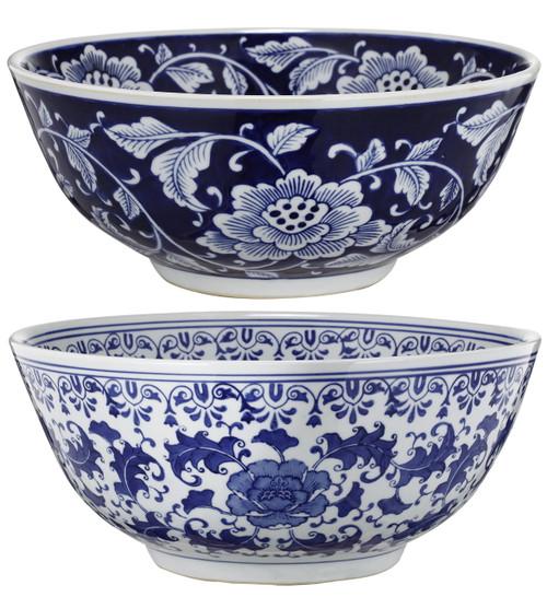Aline Centerpiece Bowls, Set Of 2