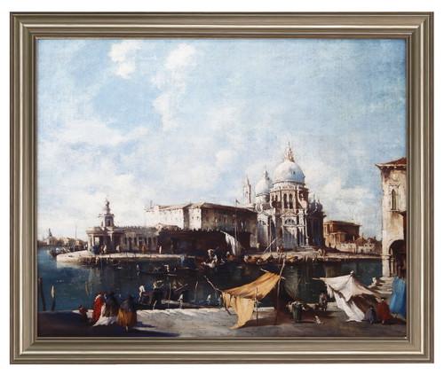 """The Grand Cannal Venice"" Framed Art Print By School Of F. Guardi"