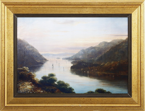 """""""View From West Point"""" Framed Art Print By Thomas Doughty"""