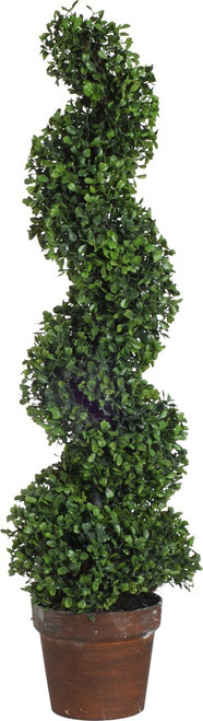 3ft Artificial Boxwood Spiral Tree Plant