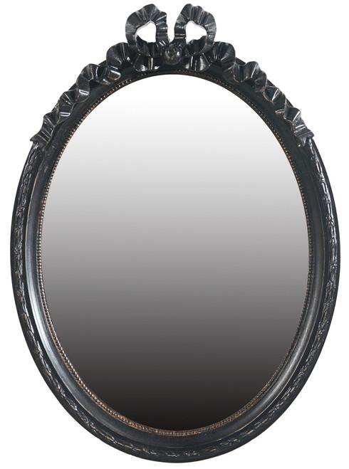 Wood Frame Ribbon Wall Mirror