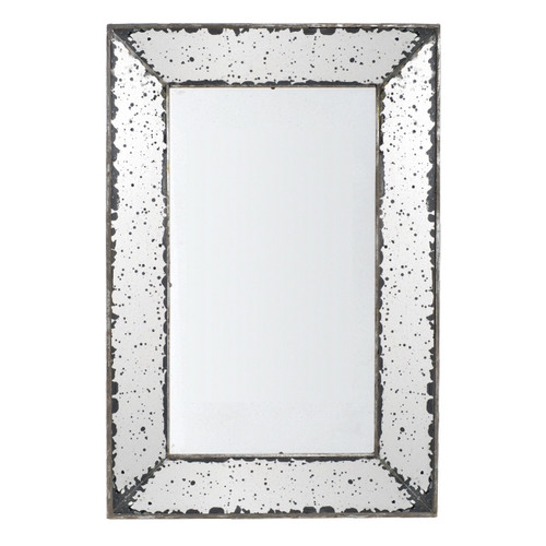 16.5 by 24-Inch Antique-Look Frameless Wall Mirror