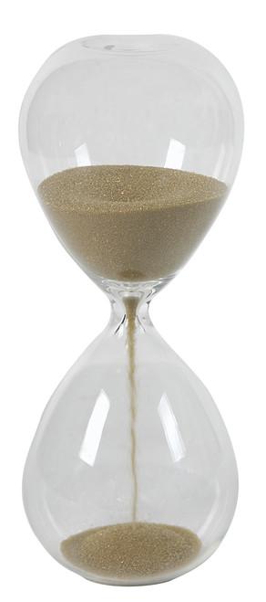 "2 Minute Hourglass Sand Timer Tan, 8"""
