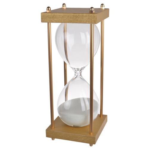 """30 Min Hourglass Sand Timer White 4X10"""""""