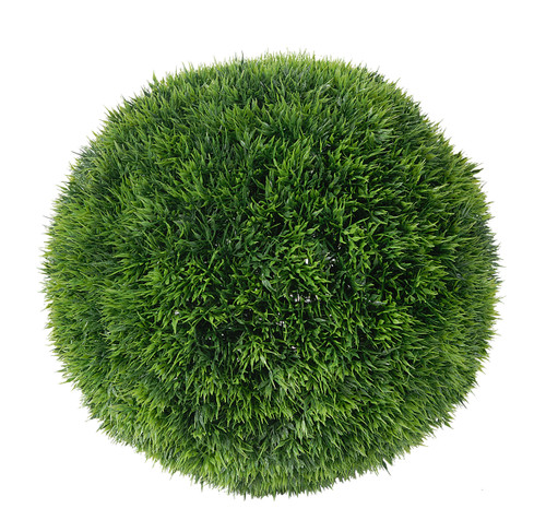 Artificial Grass Balls, Set of 3