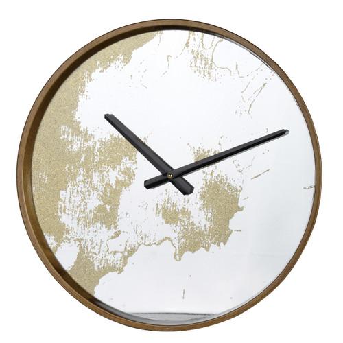 """Echodust Wall Clock, Gold D15"""""""