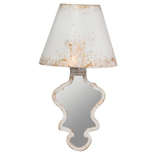 """Swithun Wall Lamp w/ Mirror 14x7.5x26.5"""""""