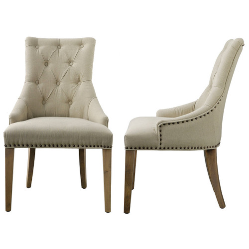 """Upholstered Wood Chair 24x28x39"""""""