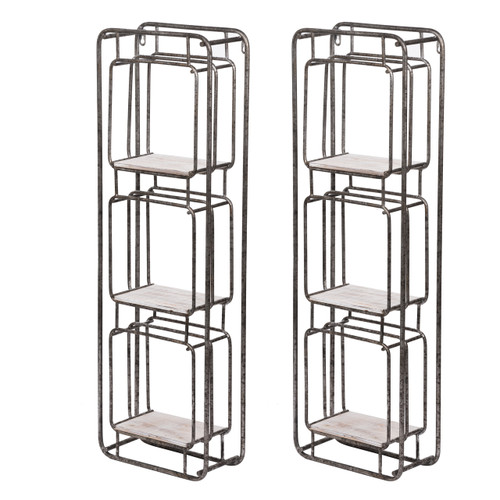 "Metro Shelf 12x5x36"" Set Of 2"