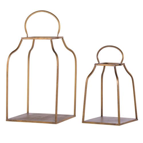Lanterns King Cottage Set Of 2