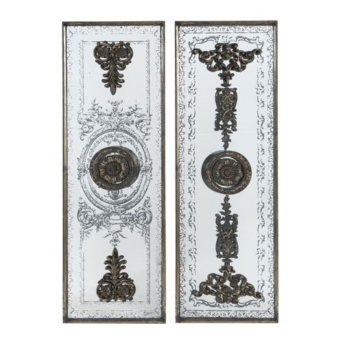"16x48"" Doorways Past Mirrored Panels"