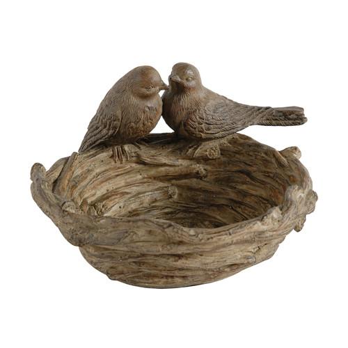 """Ziva Nesting Bird Dish 9x7.5x5"""""""