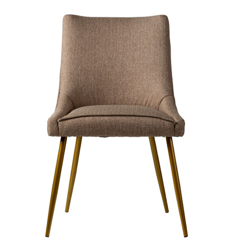 This beautiful dining chair is a chic accent to any modern room or will create an inspired addition to a contemporary dining setting. It is simple fluid lines subtly generate a powerful statement.