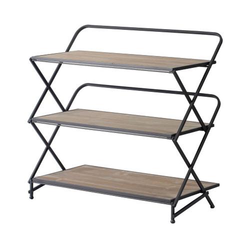 """3 Layer Kd Shelves 34X17X33"""""""
