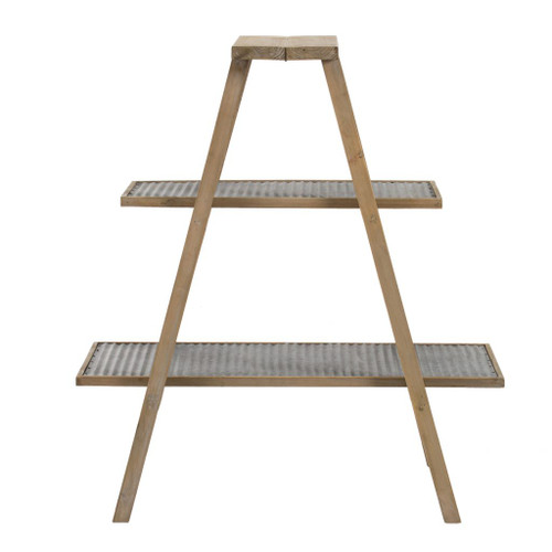 A-frame Ladder Frame Shelf 25.5x21.5x34.5""