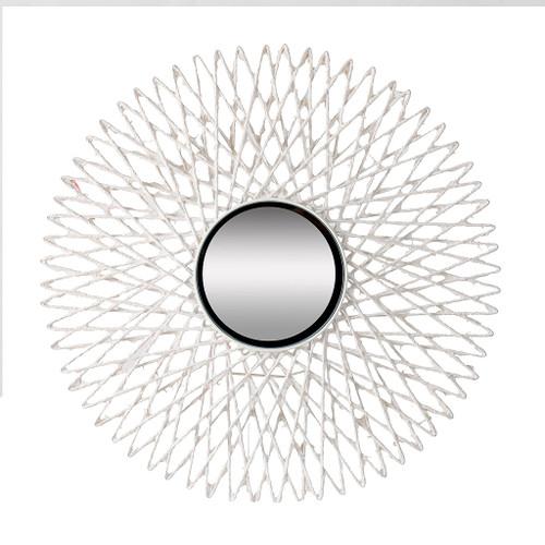 "Circular Starburst Wall  Mirror D30X2"""
