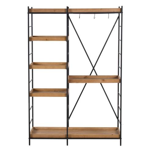 """Metal Frame Shelf 47x17x71"""""""
