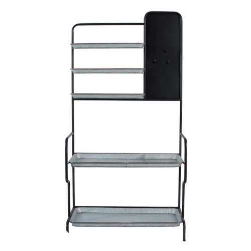 Storage Shelf with Blackboard 36x19x70""