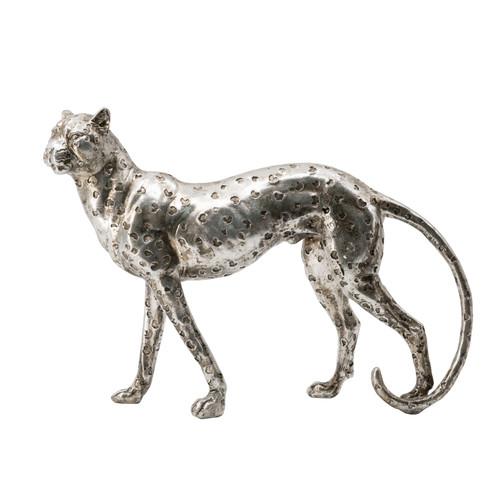 "Standing Leopard Statue 13x3x9"""