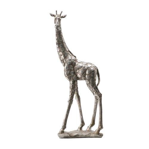 "Standing Giraffe Statue 6.5x4x18.5"""