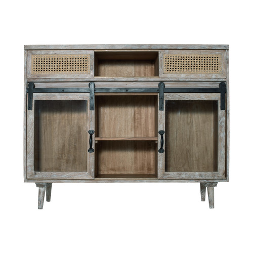 """Sideboard Cabinet With Sliding Doors 45x16x36"""""""
