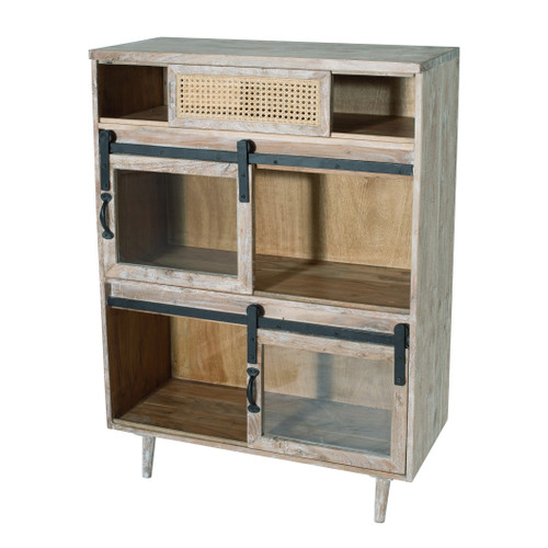 """Sideboard Cabinet With Sliding Doors 34x16x47"""""""
