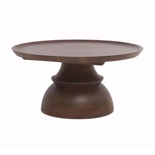 """Sheesham & Mango Wood Coffee Table 35x35x17"""""""