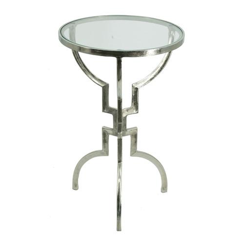 """Aluminum Accent Table 15.5x15.5x23.5"""""""