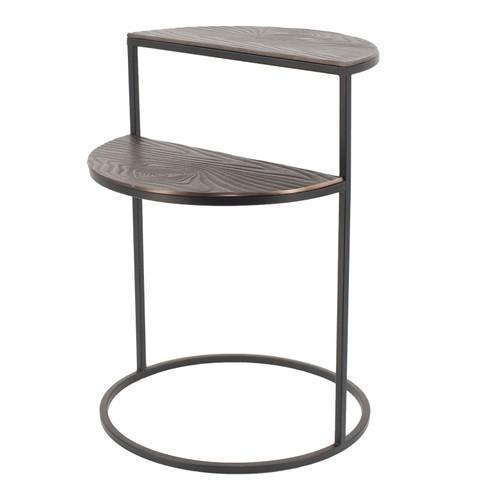 """16x16x22"""" Alu Timber Round Twin Table 1EA/CTN"""