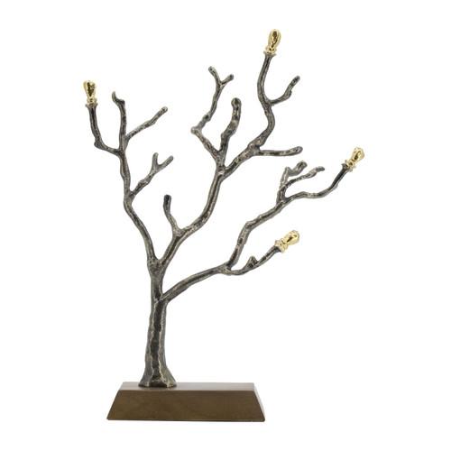 "Tree Branch Statue Decorative Object 11x3.5x14"""