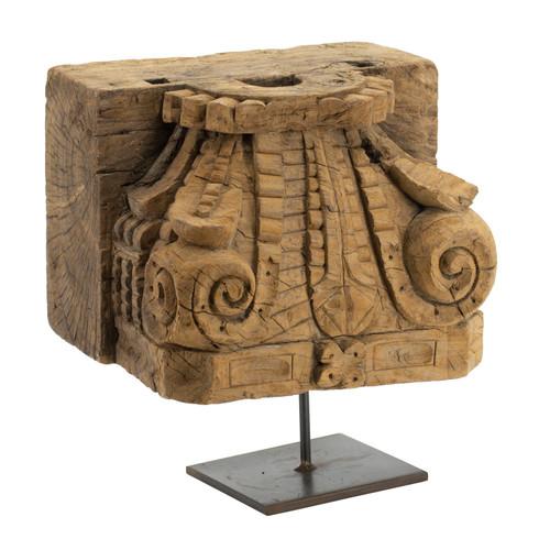 "Decorative Pillar Base Table Decor 12x9x16"""