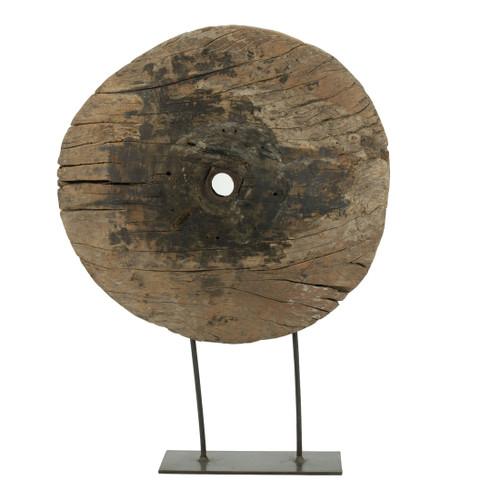 "Decorative Cart Wheel Table Decor 19.5x6x27.5"""