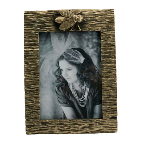 """Bee Photo Frame, 5x7"""" Opening"""