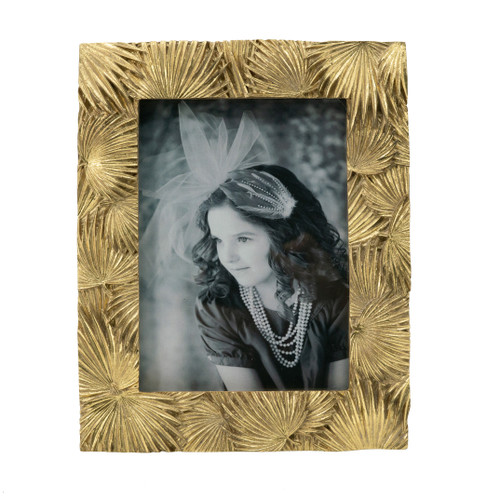 """Faux Marble Photo Frame, 5x7"""" Opening"""